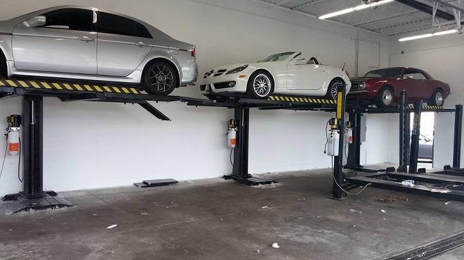 Sp 6k Ss Single Column Lift